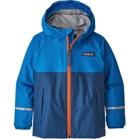 Patagonia Torrentshell 3L jakke Børn, blå